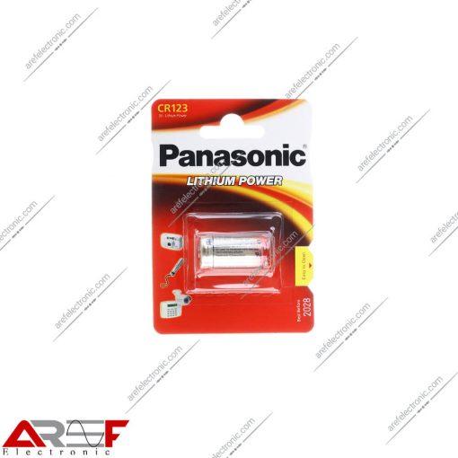 باتریCR123پاناسونیک