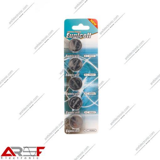 باطری سکه ای Eunicell CR2032