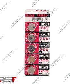 باتری سکه ای CR2025 مکسل