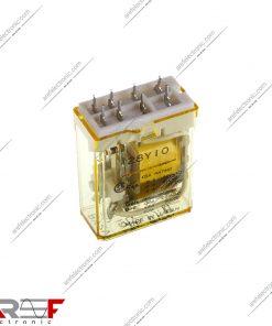 رله IDEC مدل RY2V_U دارای ۱۲ ولت و ۸ پین
