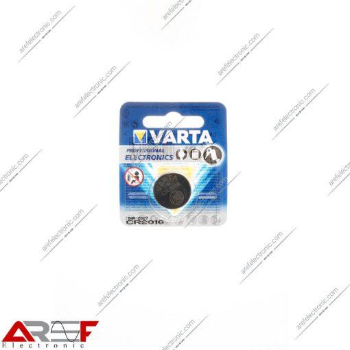 باتری سکه ای لیتیوم CR2016 وارتا