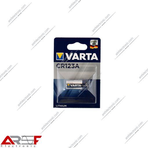 باتری لیتیومی CR123A وارتا